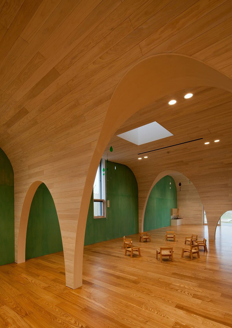 Leimond-Shonaka Nursery School by Archivision Hirotani Studio