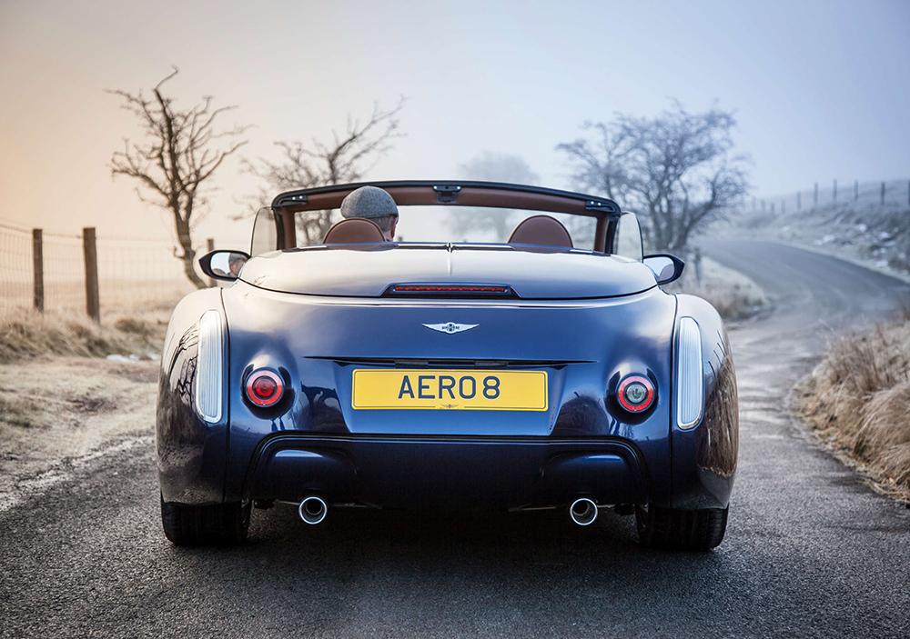 Morgan Motor reveals their 2015 Aero 8 at the Geneva Motor Show