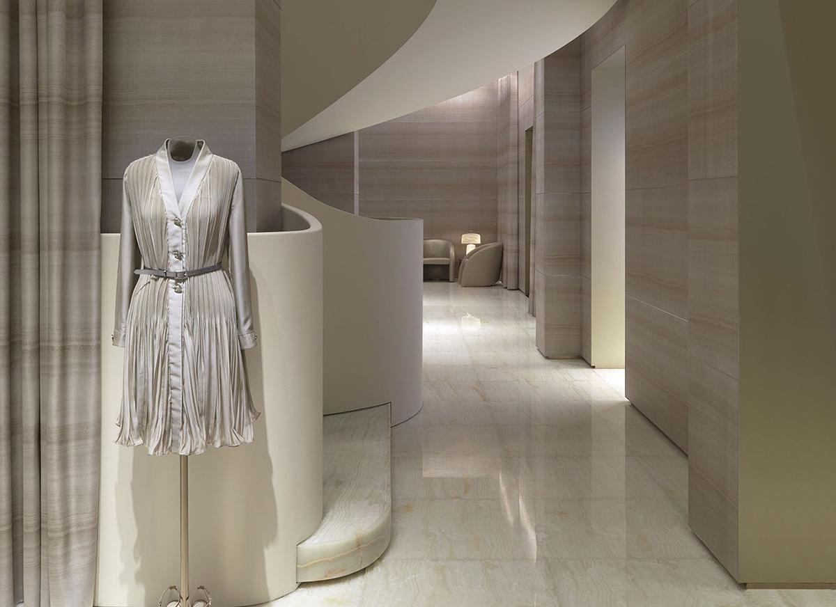 Giorgio Armani's redesigned Milan Flagship | KNSTRCT