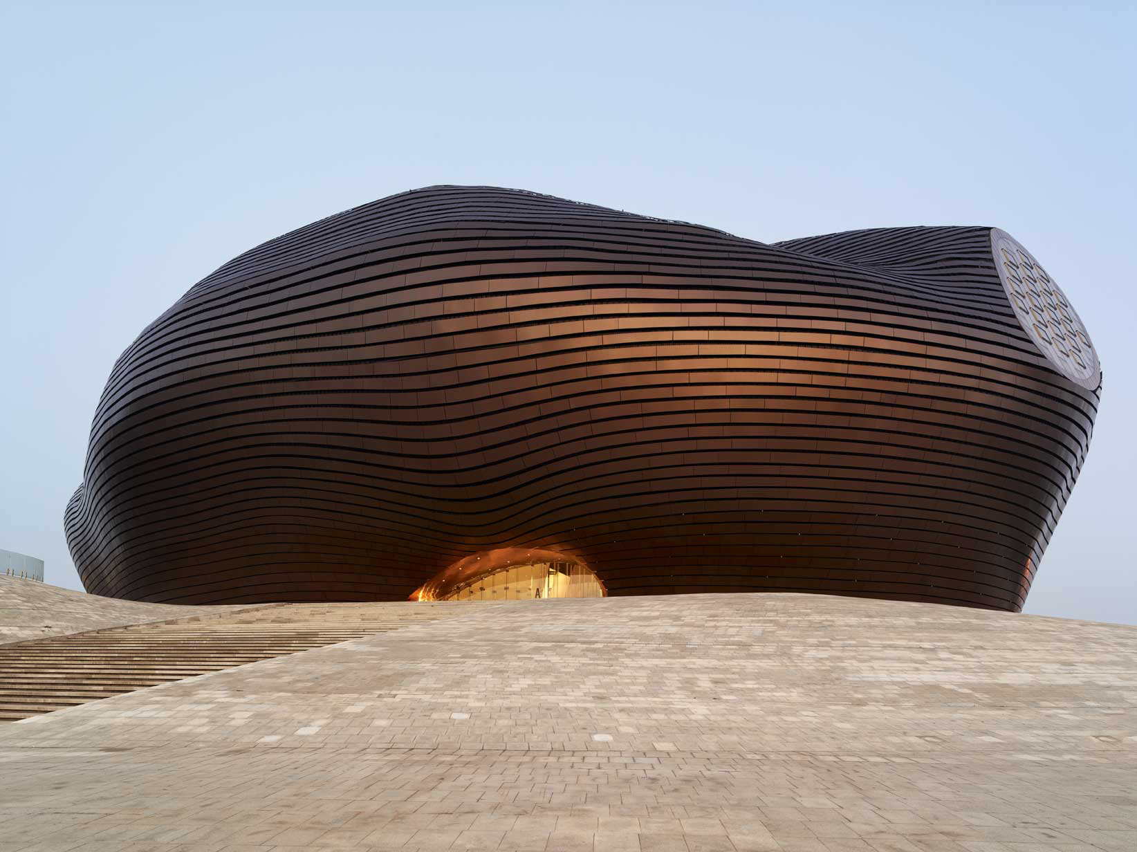 Ordos Museum by MAD Architects in Inner Mongolia, China
