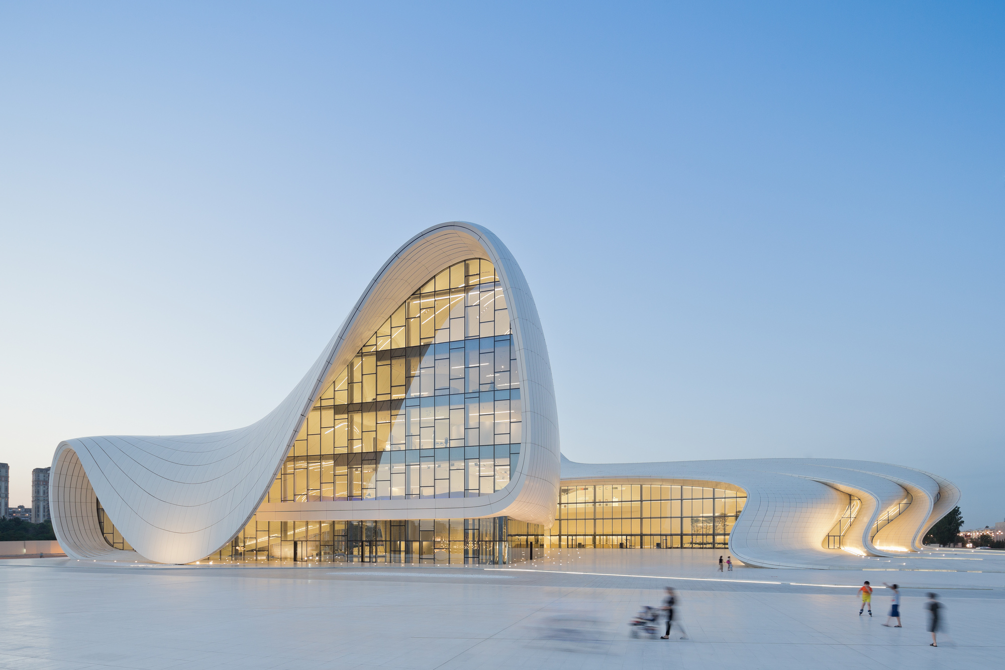 Heydar Aliyev Center by Zaha Hadid Architects in Azerbaijan