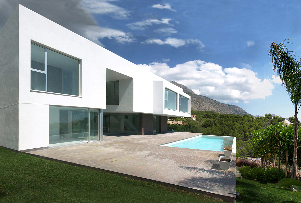 The Water House: Esculpir el Aire Sculpt Contemporary Spanish Dwelling