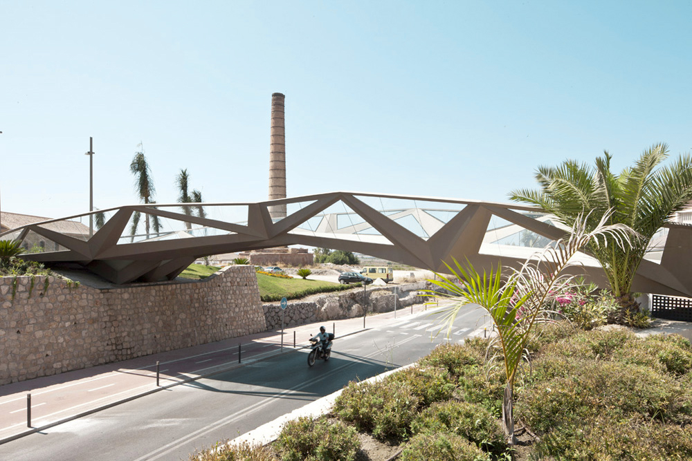 Motril Footbridge by  Guallart Architects