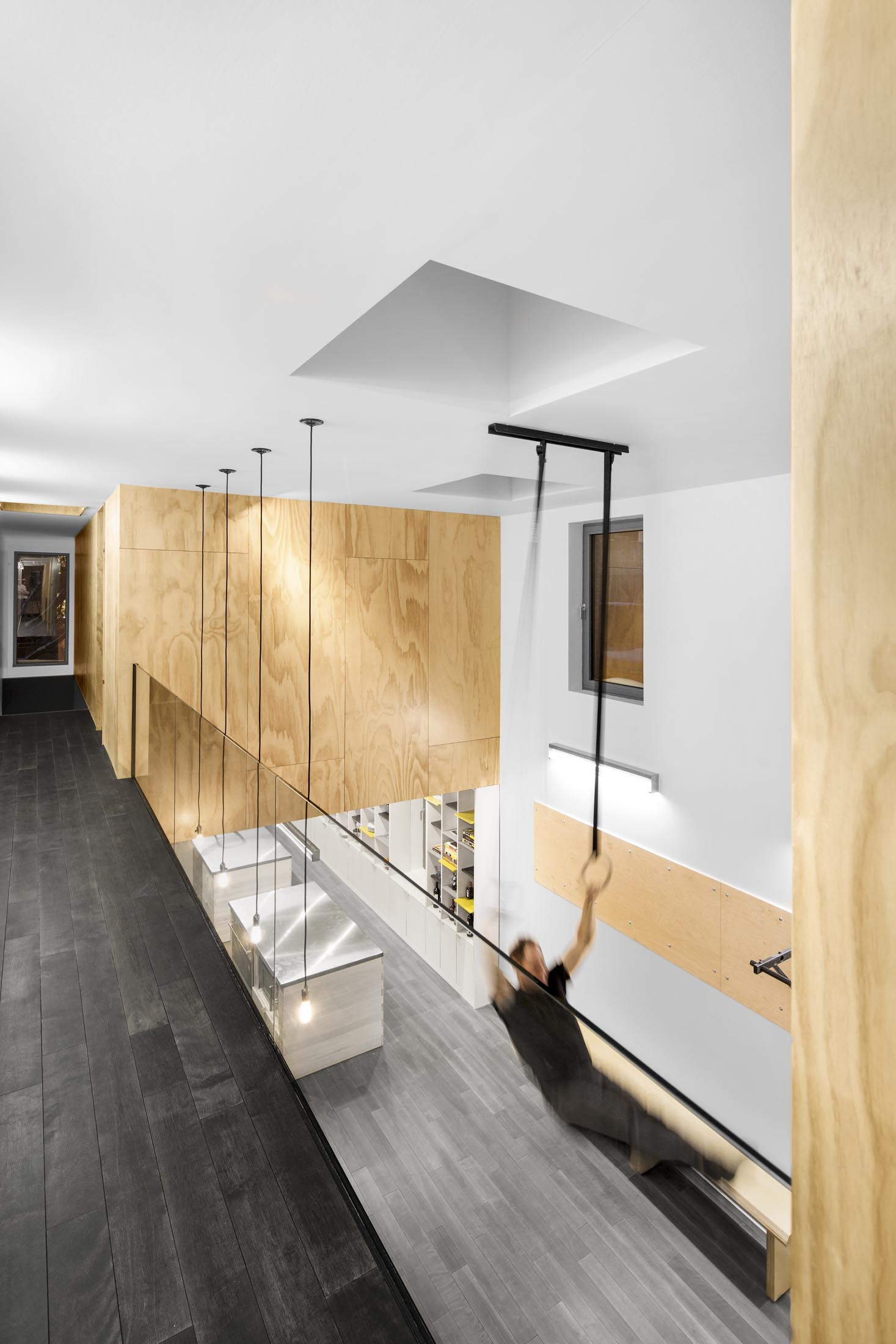 In Suspension Athletic House by Naturehumaine