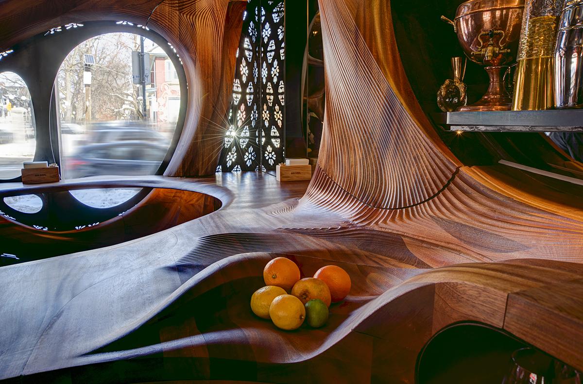 PARTISANS Revisits Art Nouveau with Bar Raval