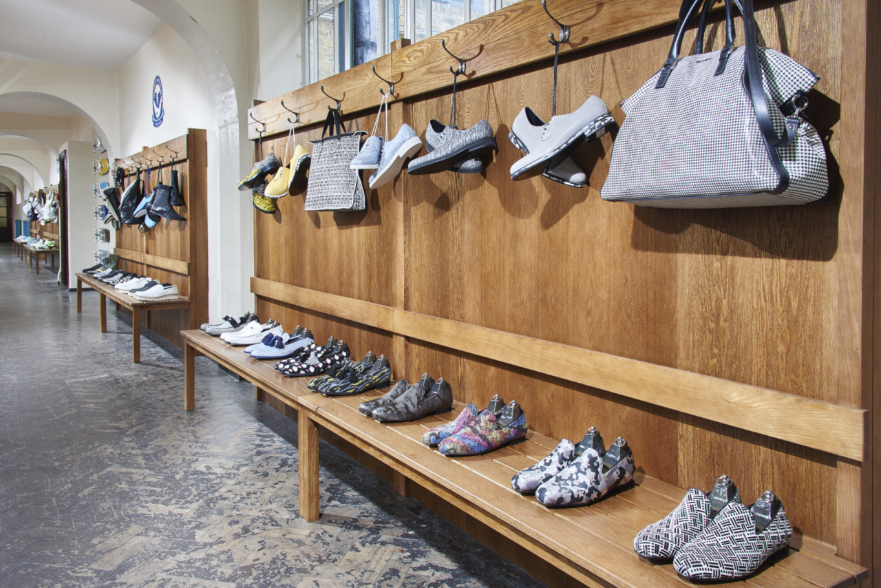 Jimmy Choo skates into the launch of their Spring/Summer 2016 men's collection