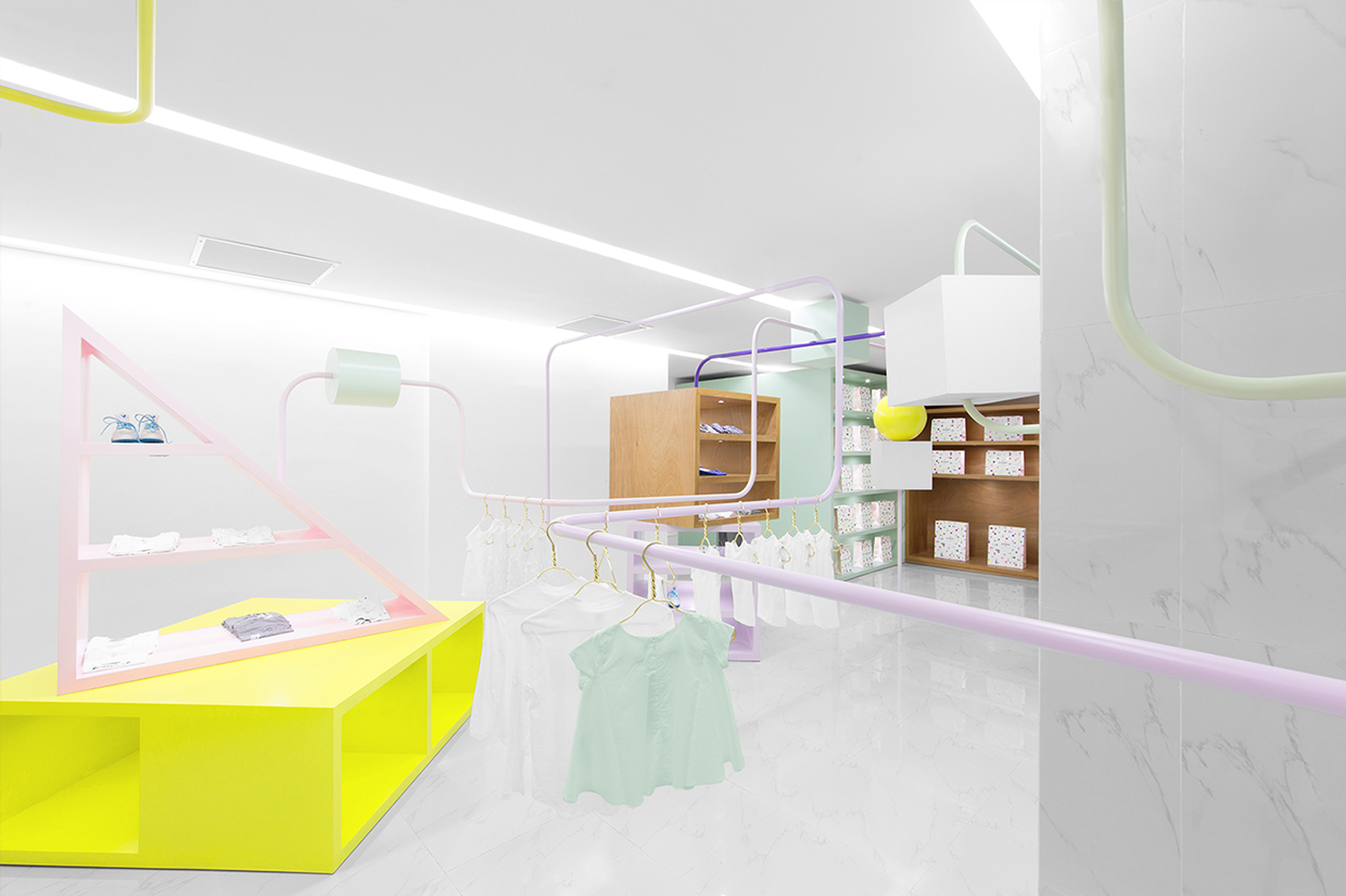 Anagrama crafts shapely kid clothing store