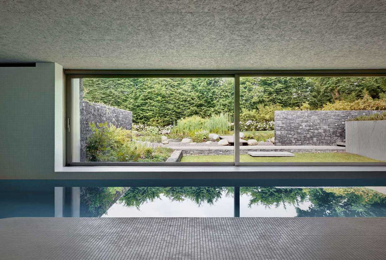 Act_romegialli designs indoor swimming pool in historical Italian home
