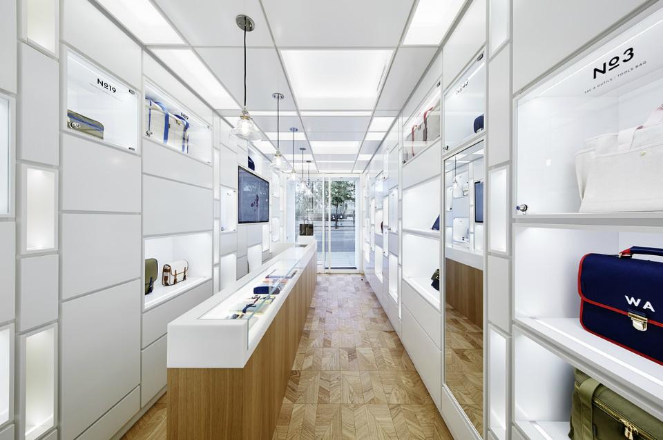 "Wonderwall creates ""Cabinet of Wonder"" inside L/Uniform's new Paris boutique"