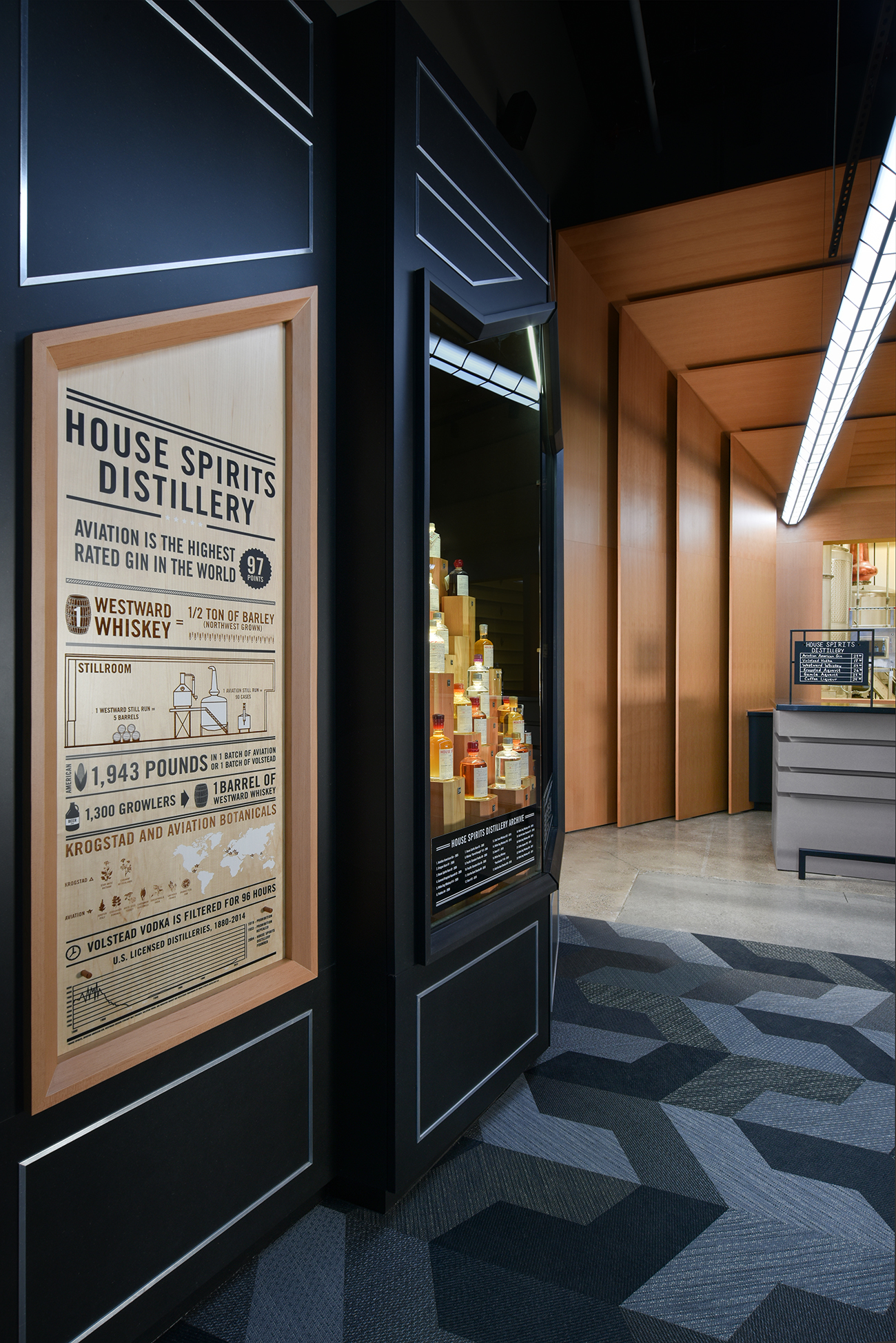 Osmose Studio Designs House Spirits Distillery and HQ in Portland