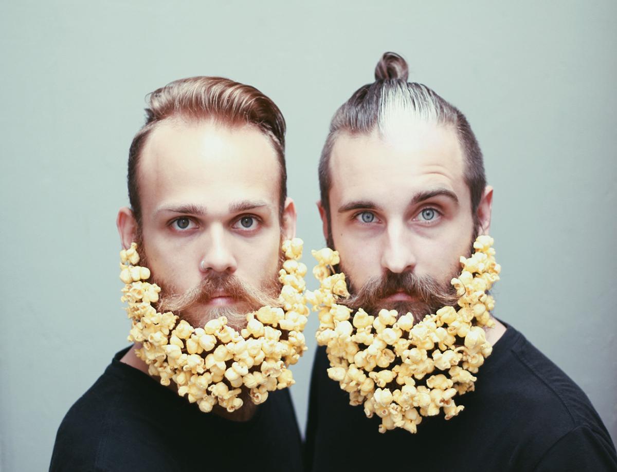 The Gay Beards: Two best friends, two best beards