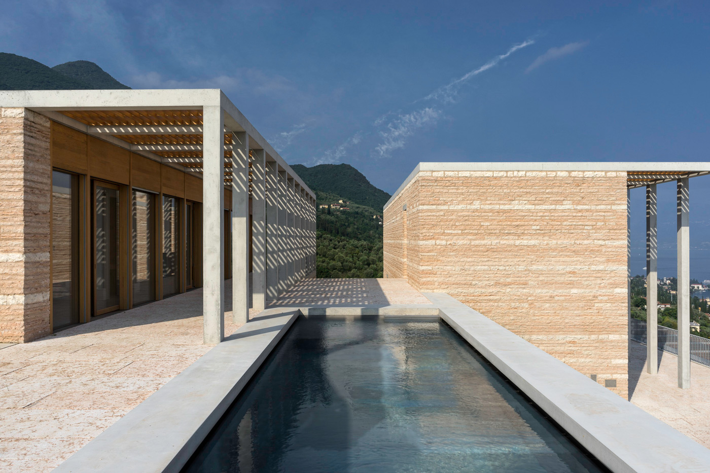 Swimming pool at Villa Eden by David Chipperfield Architects