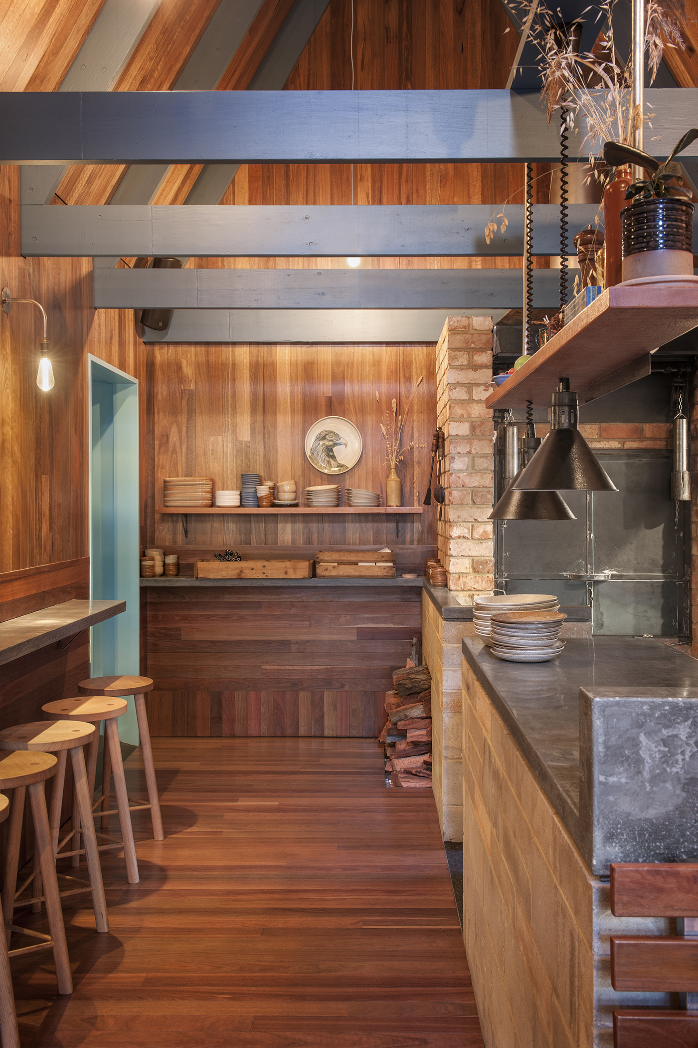 Sans-Arc Studio designs Adelaide's little Pink Moon Saloon
