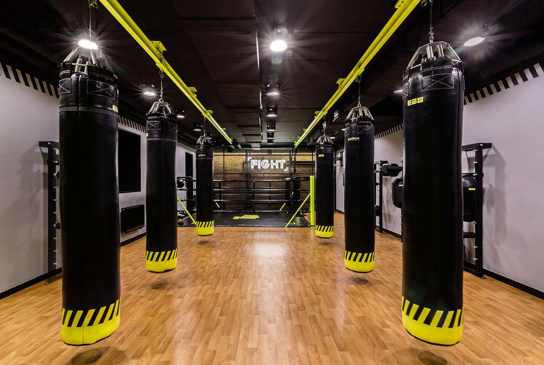 Soesthetic Group creates high-impact gym in Kiev