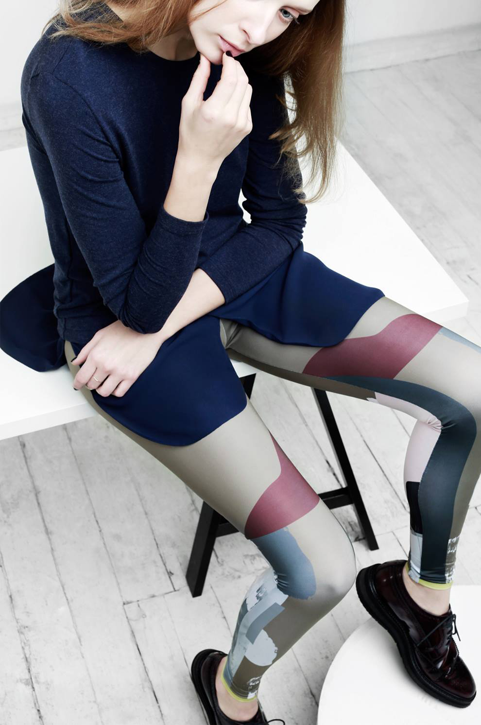 Naked Bruce creates unique and fun leggings for workout and casual wear