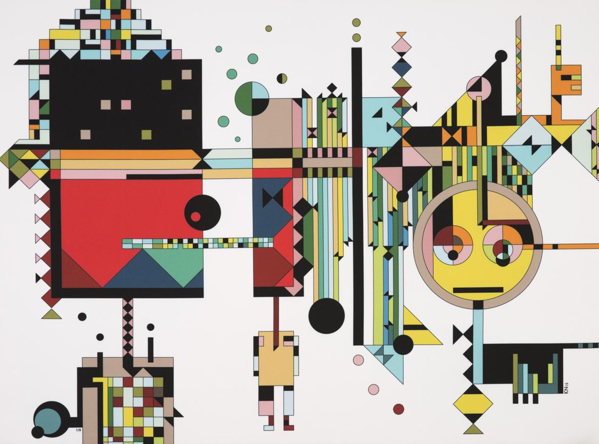 Kostas Neofitidis's artwork awakens in 'Underwater' textile series