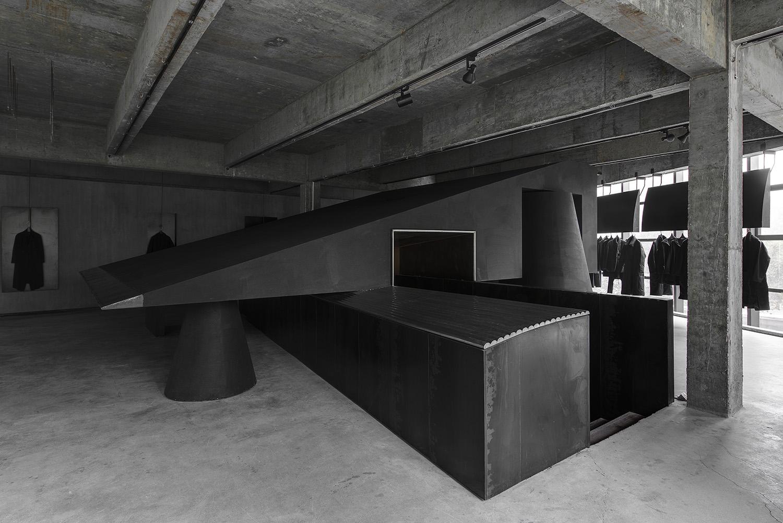 Geometric concrete concept store