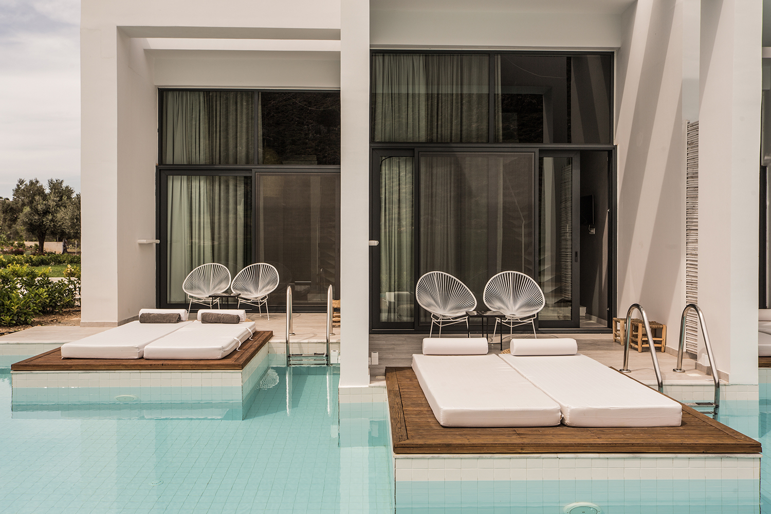 Casa Cook private pool Acapulco chairs