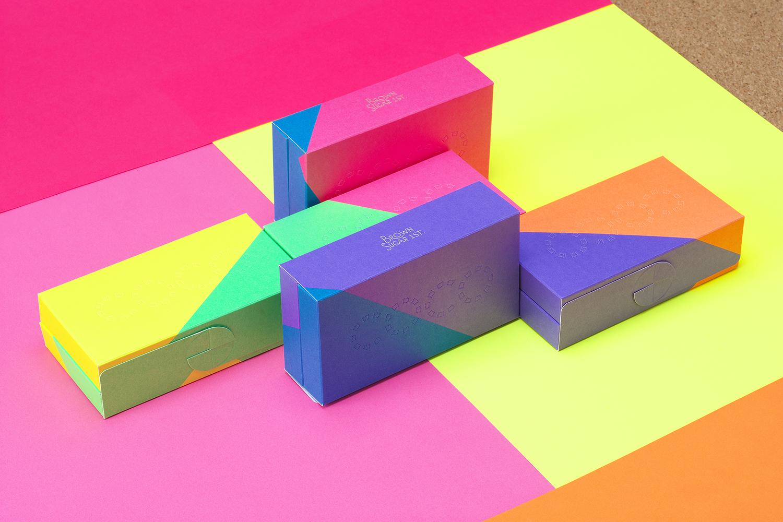 Colorful packaging design Brown Sugar 1st