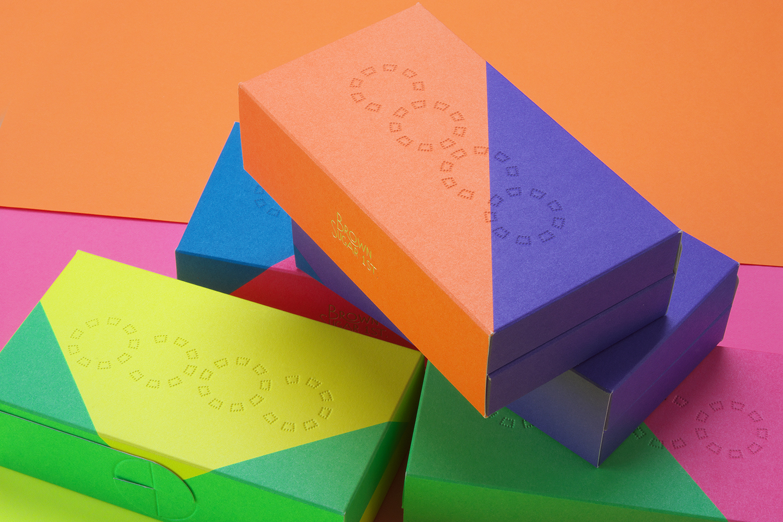Vibrant packaging design