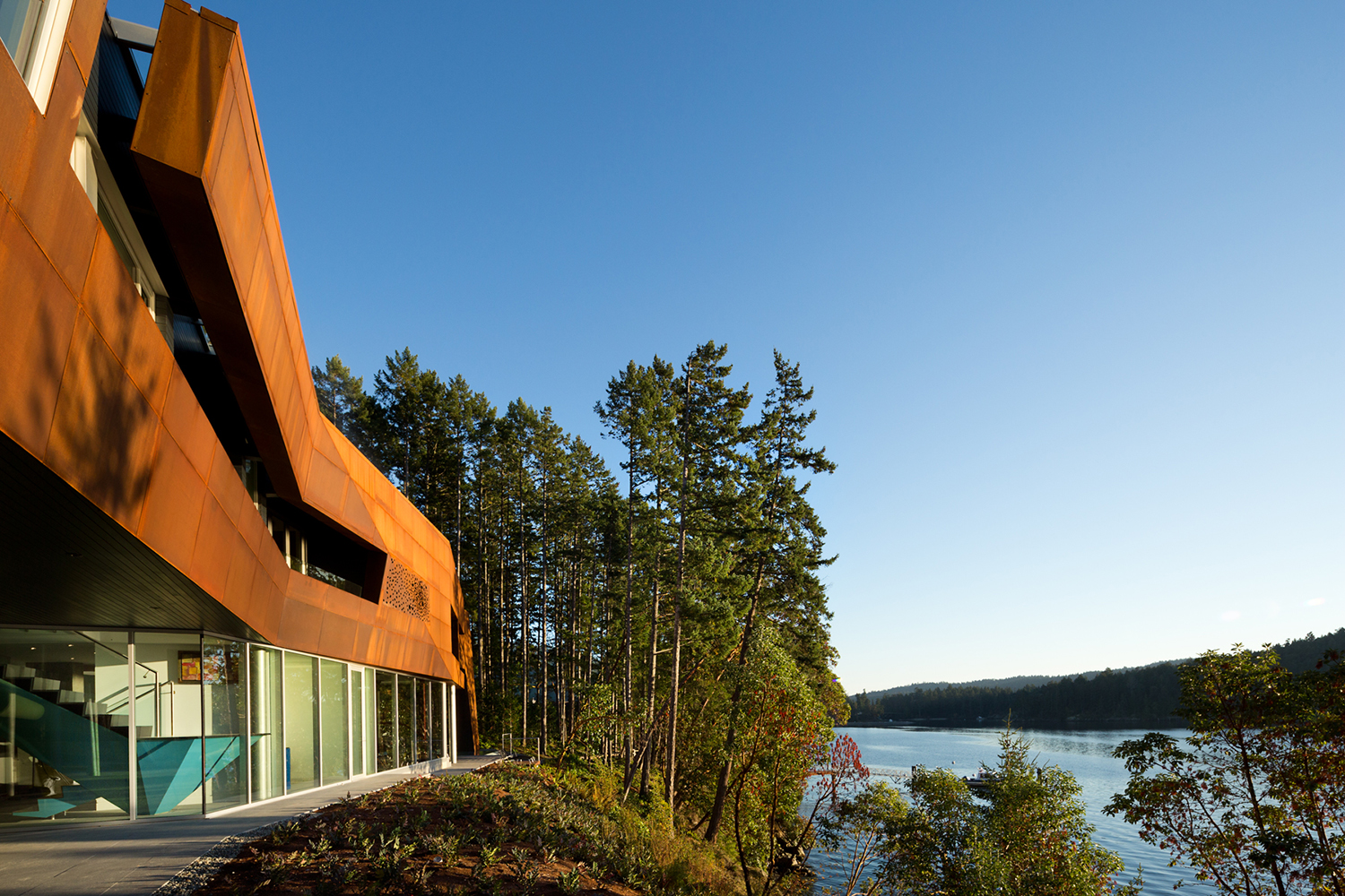 Gulf Islands Vancouver lake house