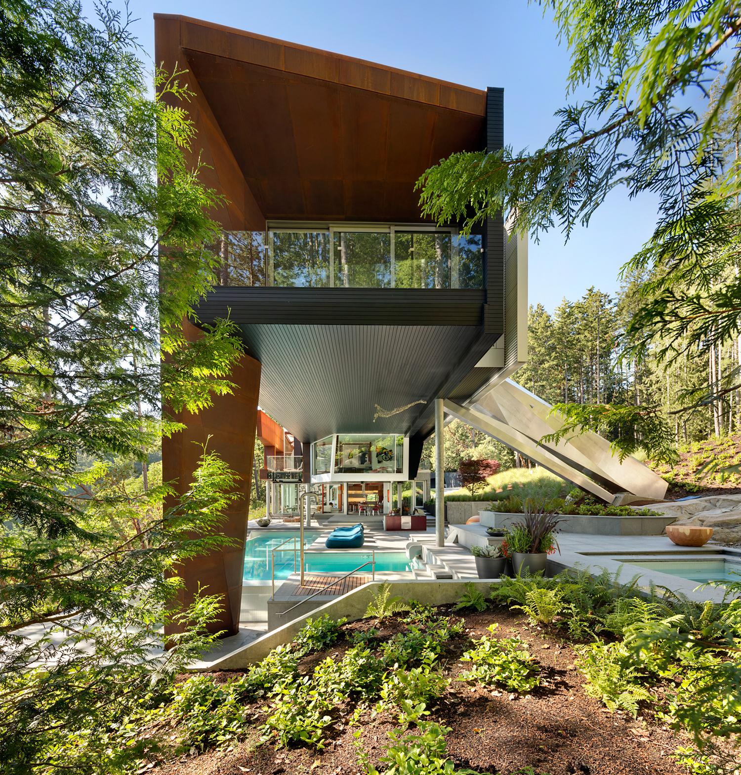 Gulf Islands AA Robins architecture