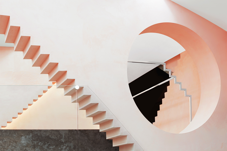 Novelty geometric interior