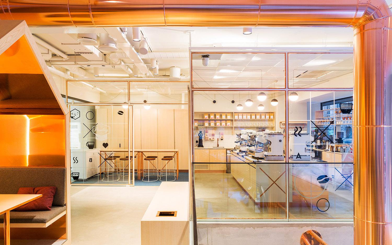 Paulig Kulma interior design