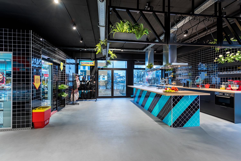 solera supermarket demonstration kitchen