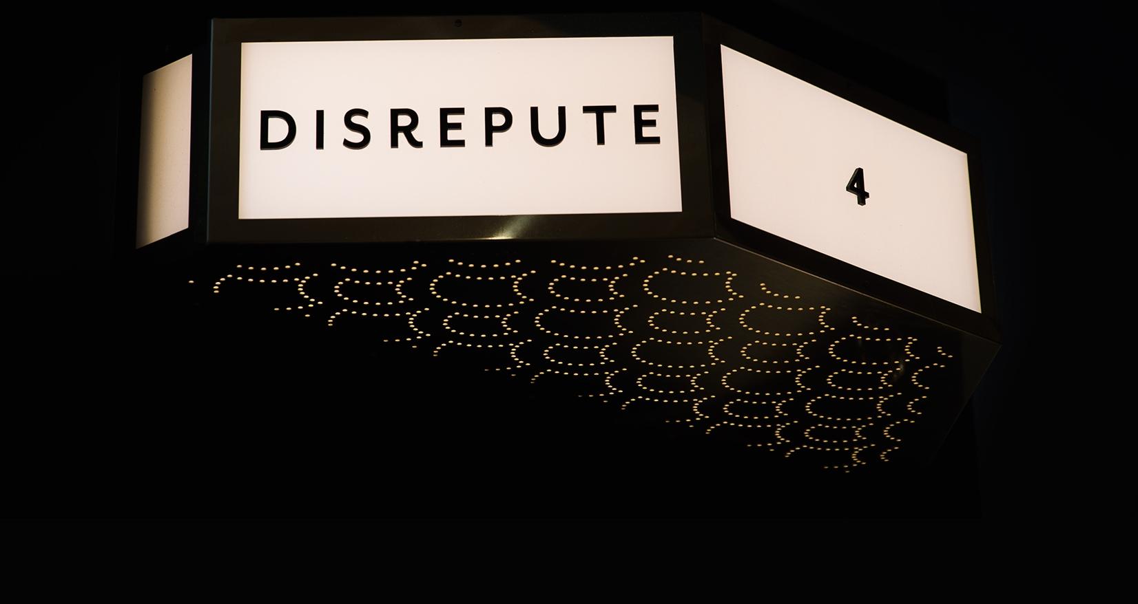 Disrepute sign