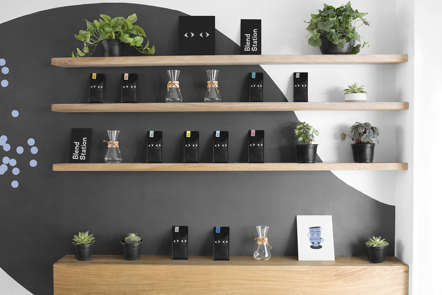 Blend Station product display