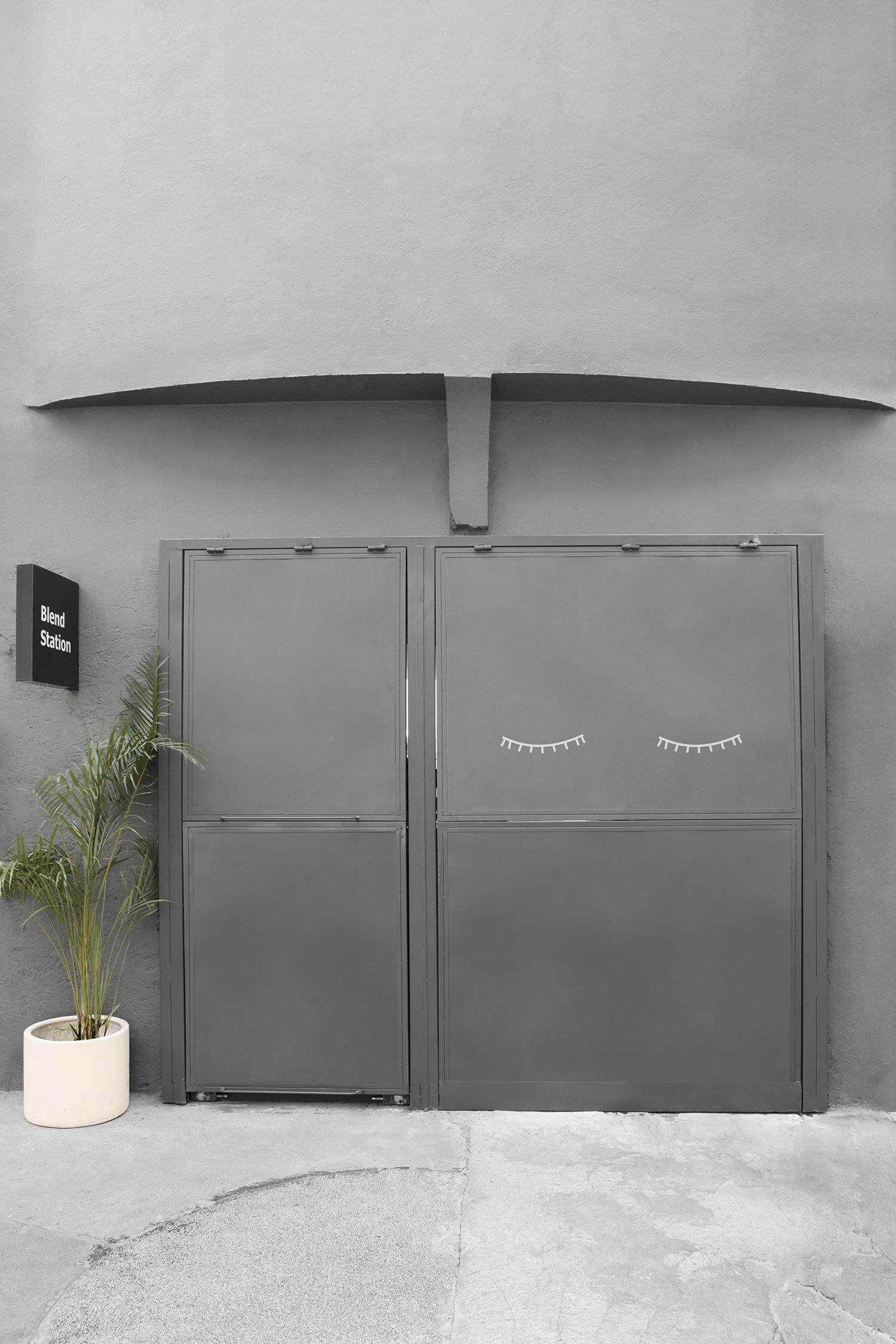 Blend Station entrance exit