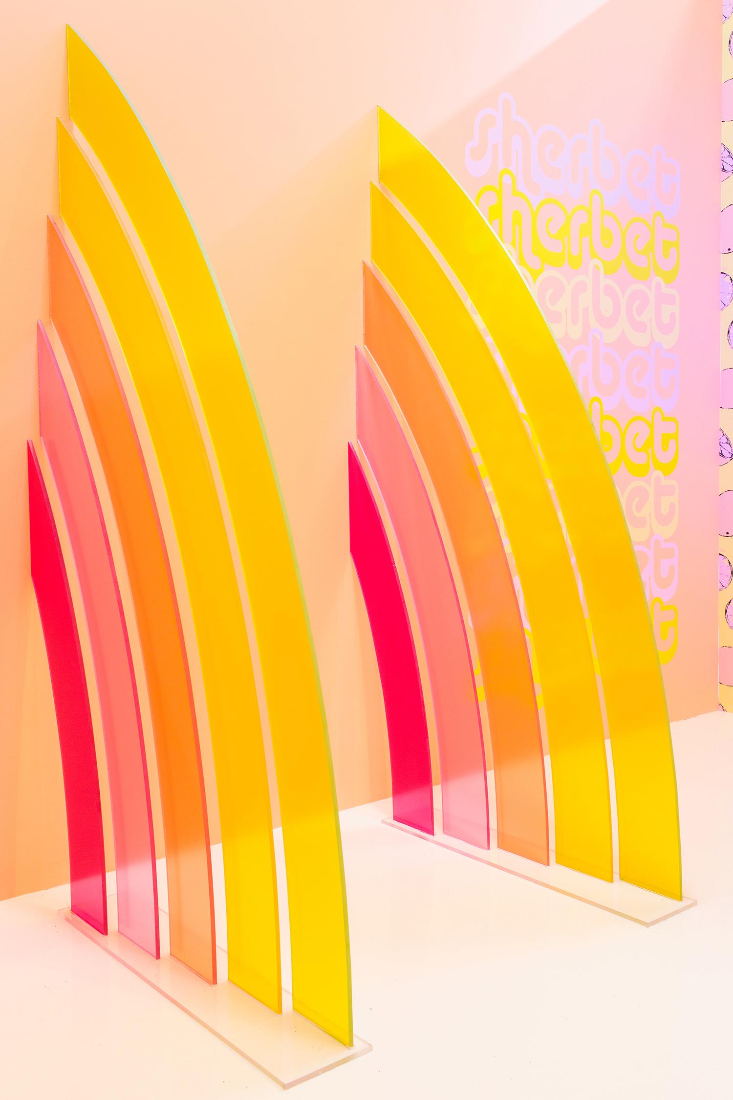 Museum of Ice Cream sorbet rainbows