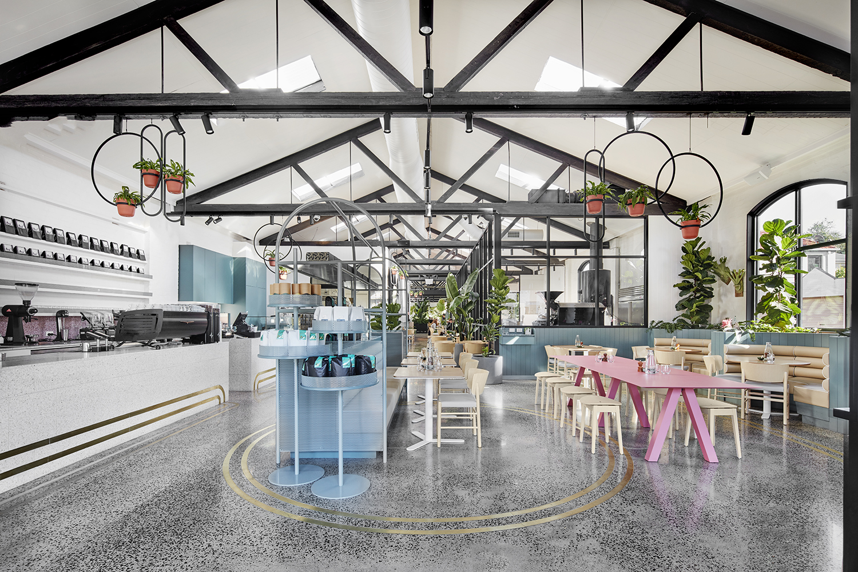 Au79 coffee shop interior
