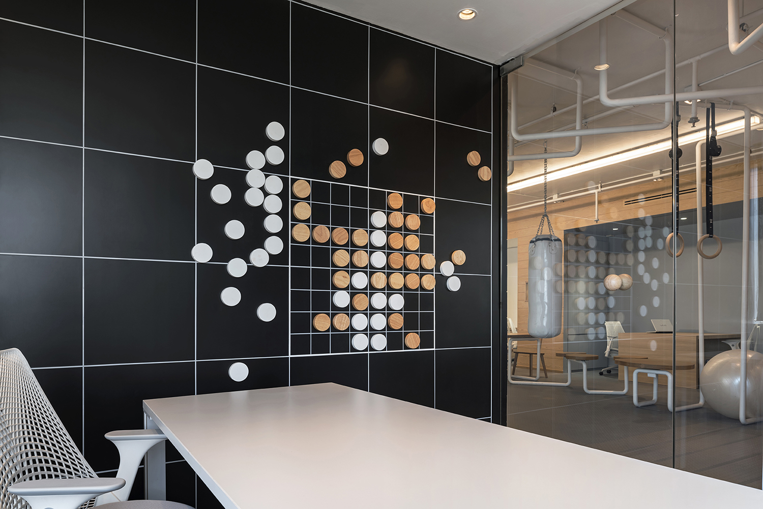 Inteltion Office checkers