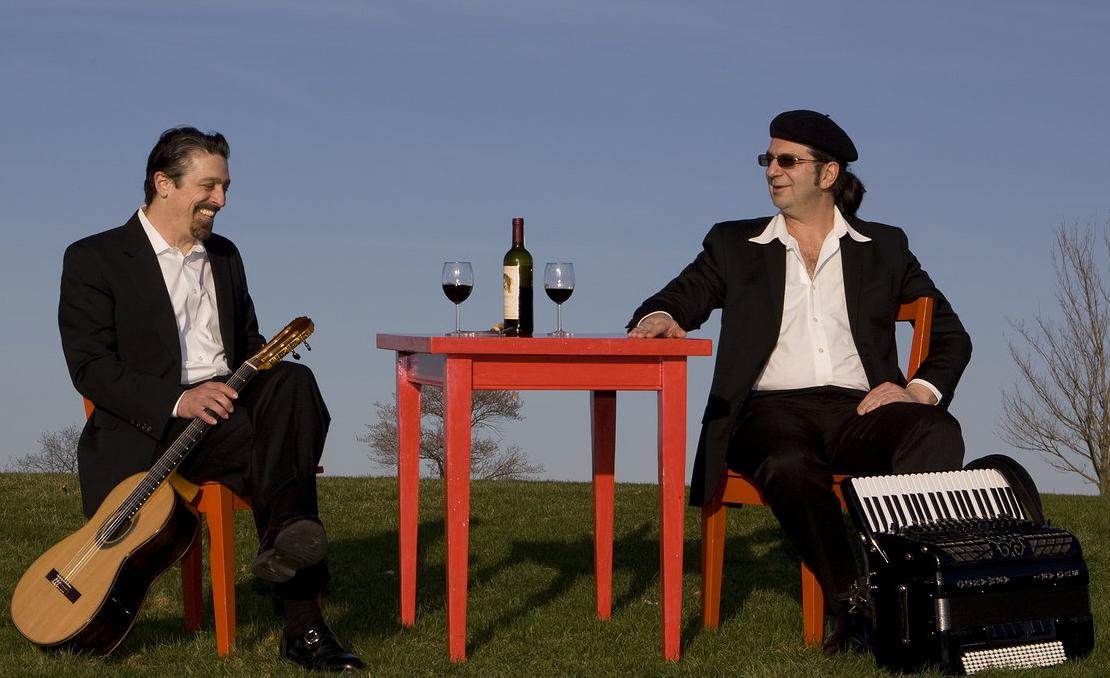John Muratore, guitar and Roberto Cassan, accordion     October 2010