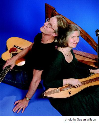 Lorraine and Bennett Hammond, folk musicians    January 2010