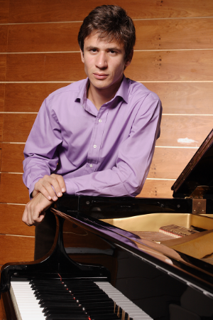 Christian Buda , pianist    April 2015
