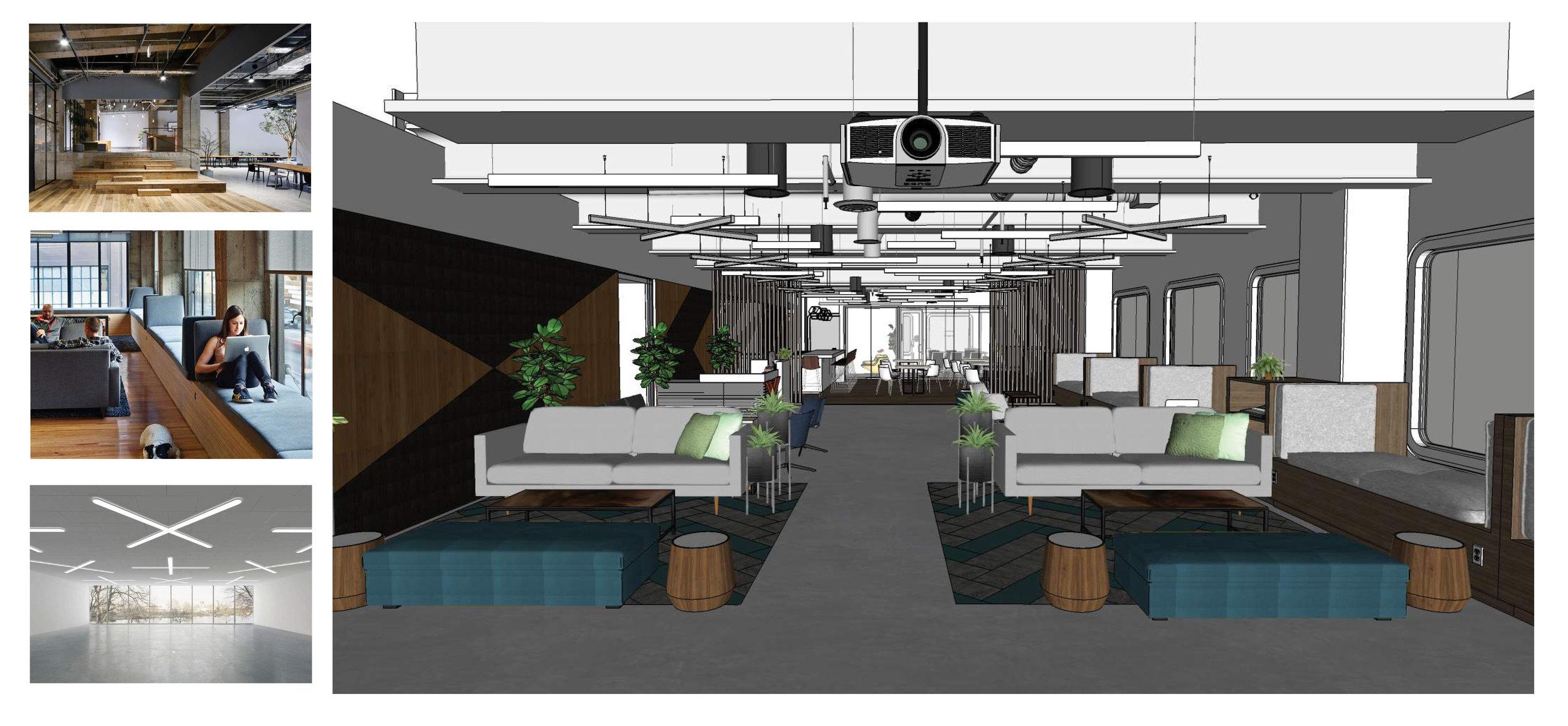 Main Lounge Design Development Rendering
