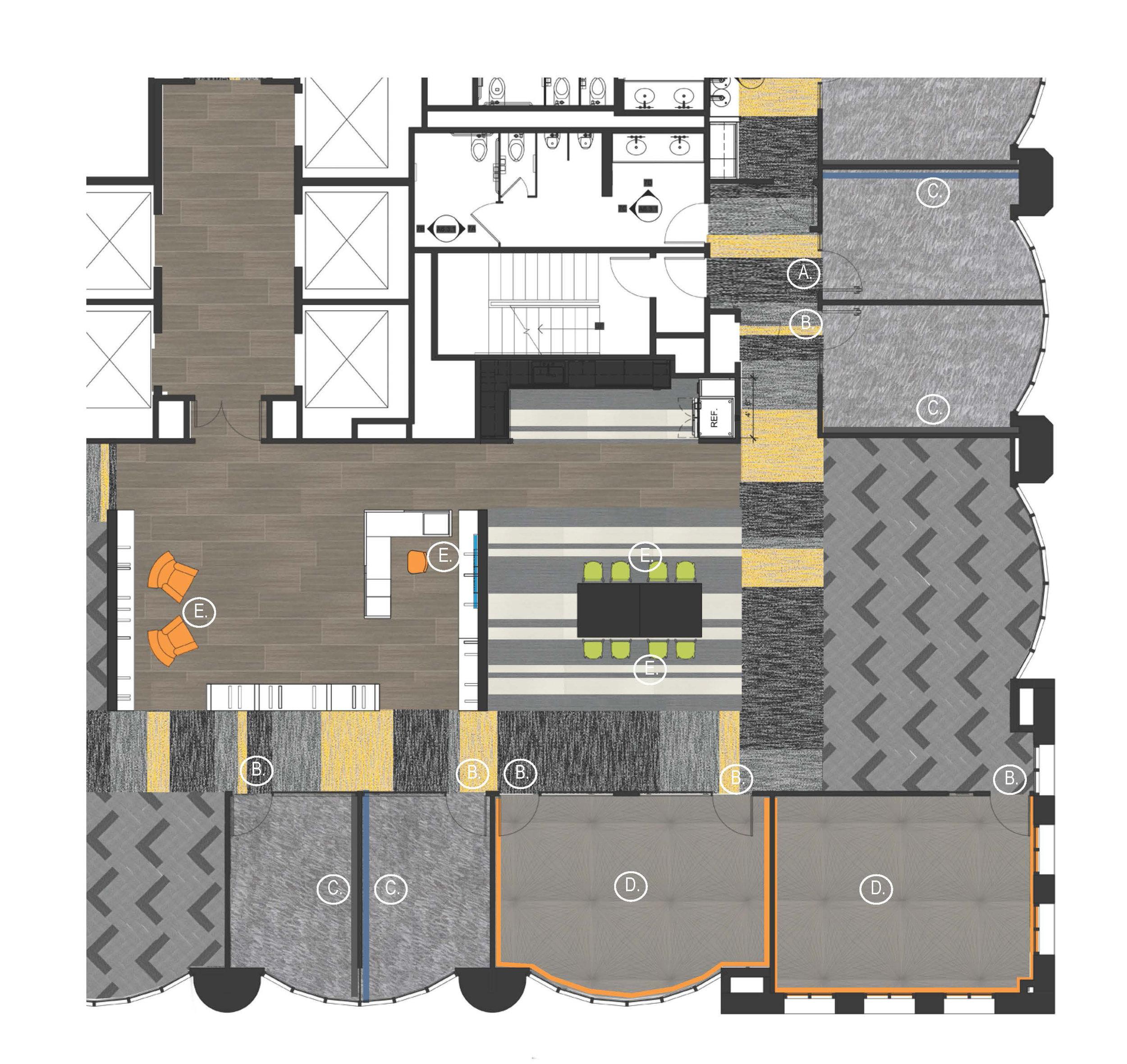 Color & Materials Plan