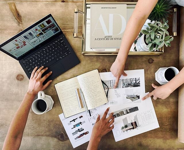 We believe it is essential to collaborate, and we do our best to do so even while working from home.  #teamwork #collaboration #workfromhome #team #architecture #design
