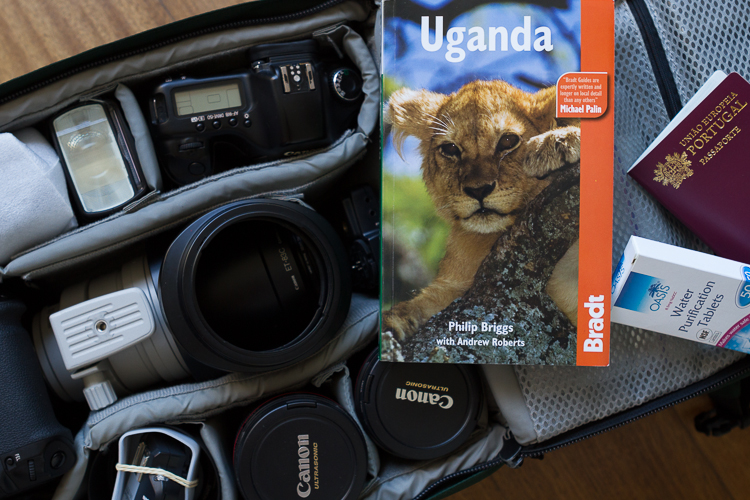 Uganda photo gear