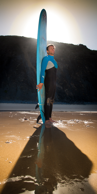 Surfer Blue