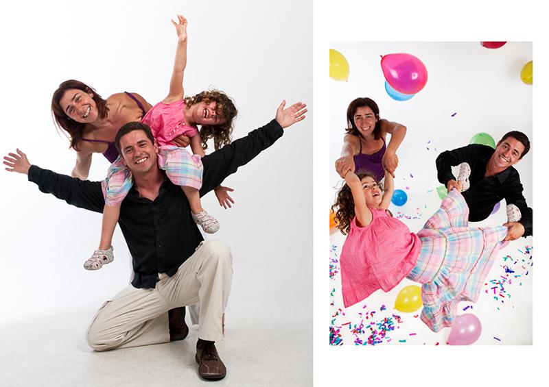 Joana & família