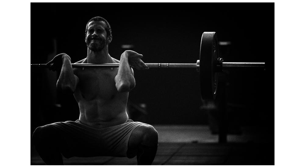 Gonçalo Barriga-atleta CrossFit barra