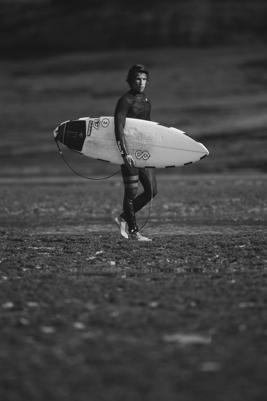 Gonçalo Barriga Sports Photographer - Surfer at Ribeira d'Ilhas, Portugal