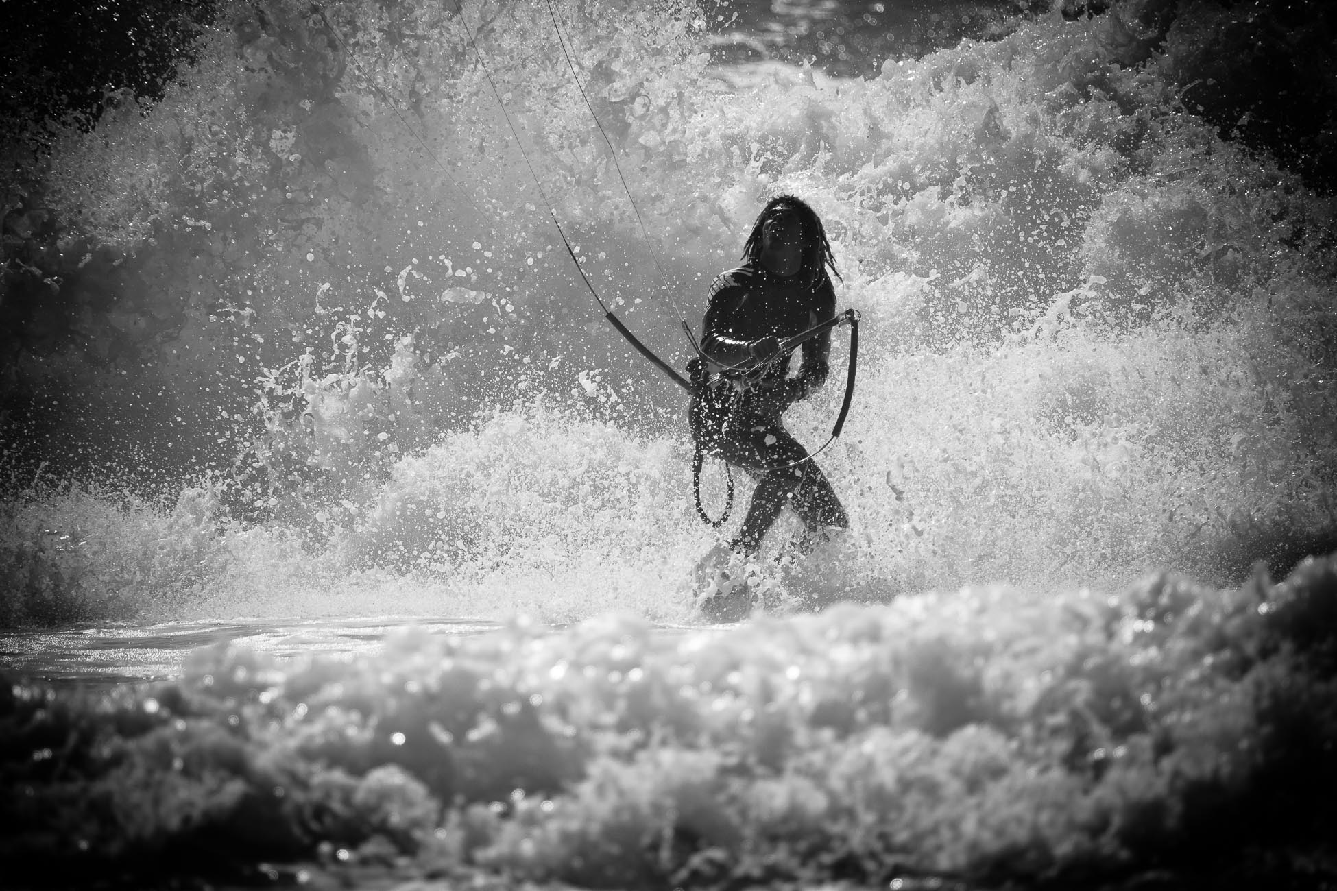 Gonçalo Barriga Photographer - Kitesurf action