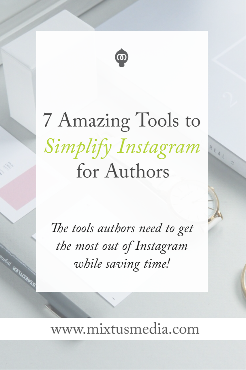 Instagram is a treasure trove for authors! It's a great way to find and connect with new readers. Here are the best tools that authors need to use to get the most out of Instagram while saving time.