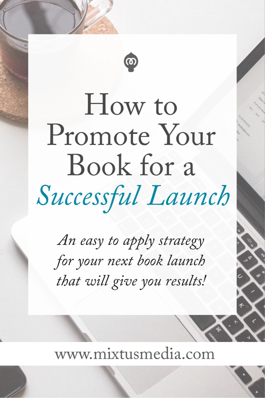 An easy to apply strategy for authors! Put it into practice for your next book launch and see big results!