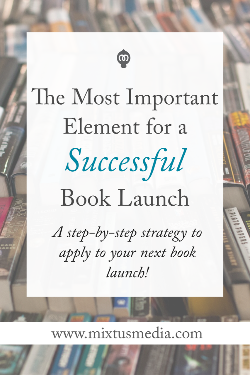A step-by-step strategy for authors to apply to your next book launch!